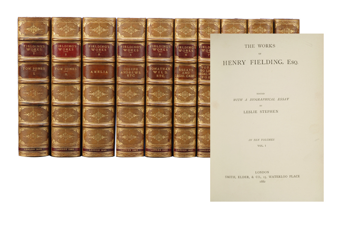 The Works of Henry Fielding, Esq (in 10 vols