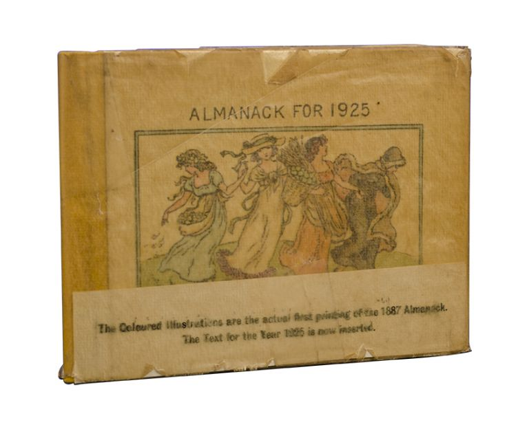 Kate Greenaway's Almanacks for 1925, 1926, and 1927. Kate Greenaway's Almanack for 1925 [together...