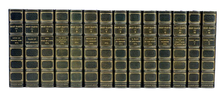 The Writings of Bret Harte (Autograph Edition in 19 vols