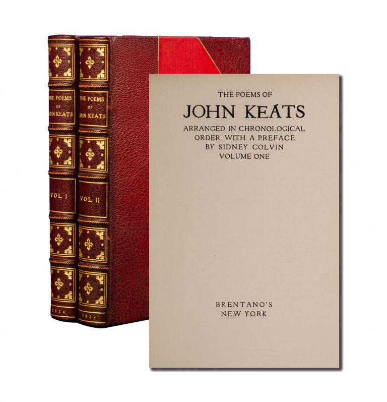 The Poems of John Keats (in 2 vols). John Keats.