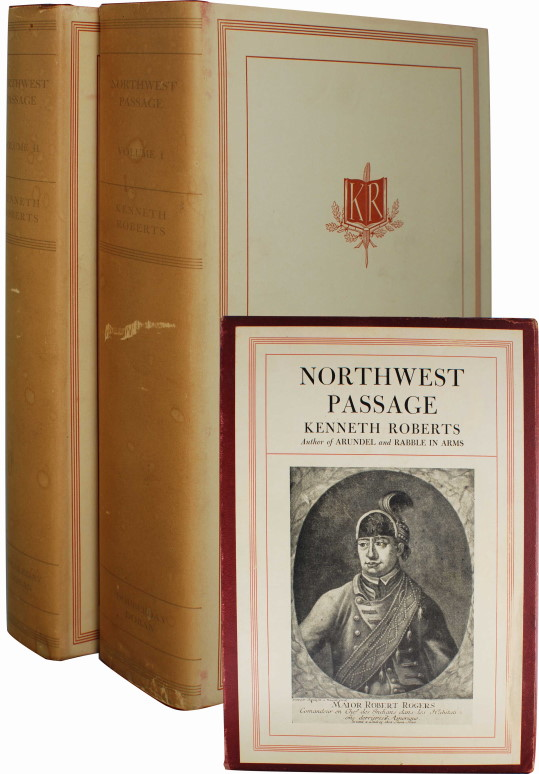NORTHWEST PASSAGE (SIGNED FIRST EDITION). Kenneth Roberts.