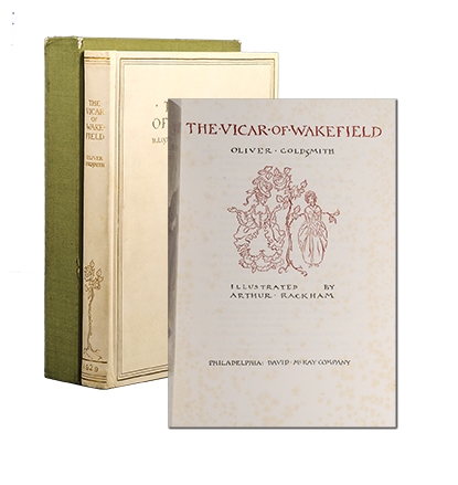 The Vicar of Wakefield (Signed Limited Edition). Arthur Rackham, Oliver Goldsmith.