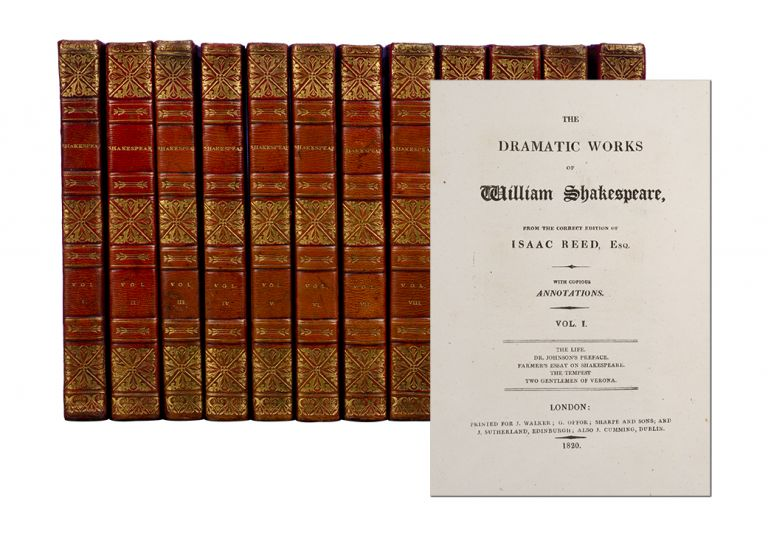 The Dramatic Works of William Shakespeare (in 12 vols
