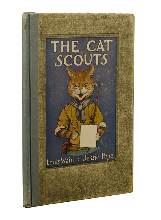 The Cat Scouts. A Picture-Book for Little Folk. Jessie. Louis Wain Pope.