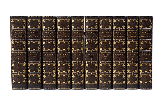 The Complete Writings (in 10 vols). Walt Whitman.