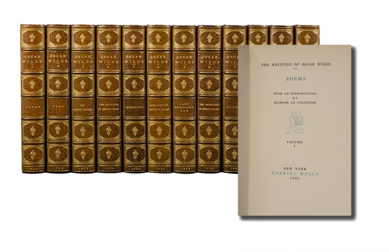 The Writings of Oscar Wilde (in 12 vols