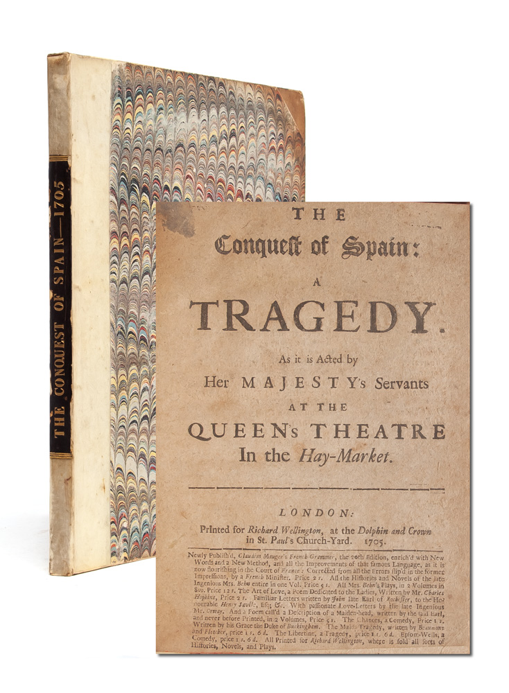 The Conquest of Spain: A Tragedy. Mary Pix.