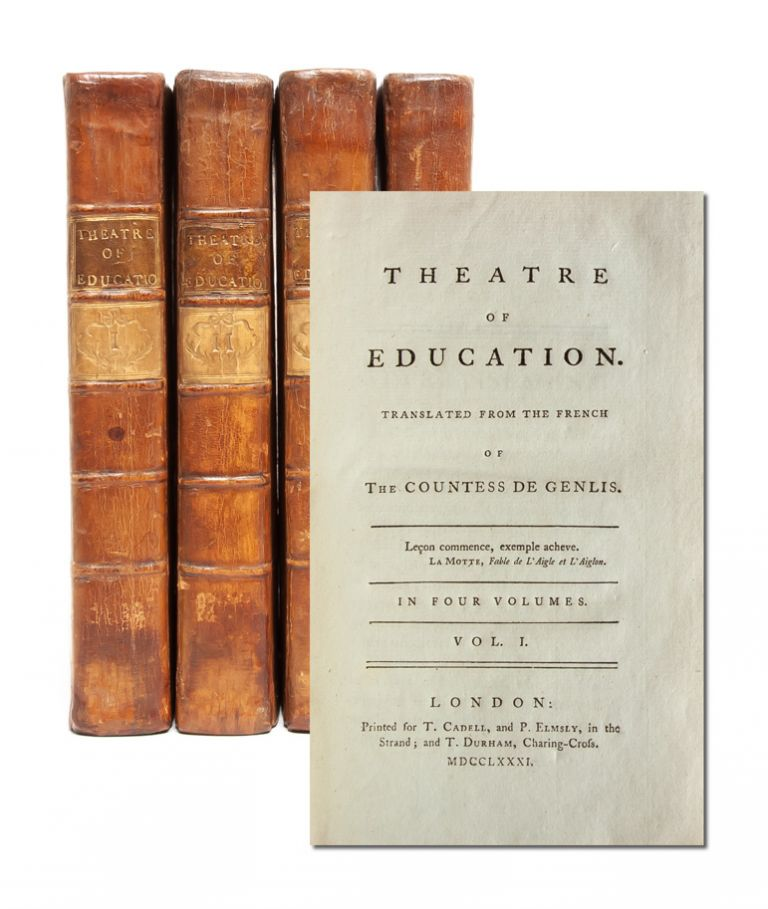 Theatre of Education (in 4 vols.). the Countess of Genlis, Stephanie.