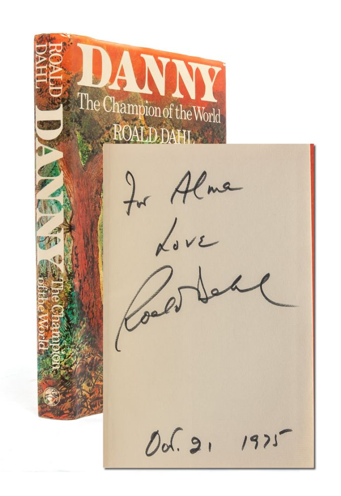 Danny, The Champion of the World (Signed First Edition