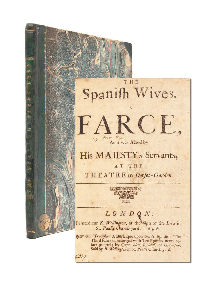 The Spanish Wives, A Farce. Mary Pix.