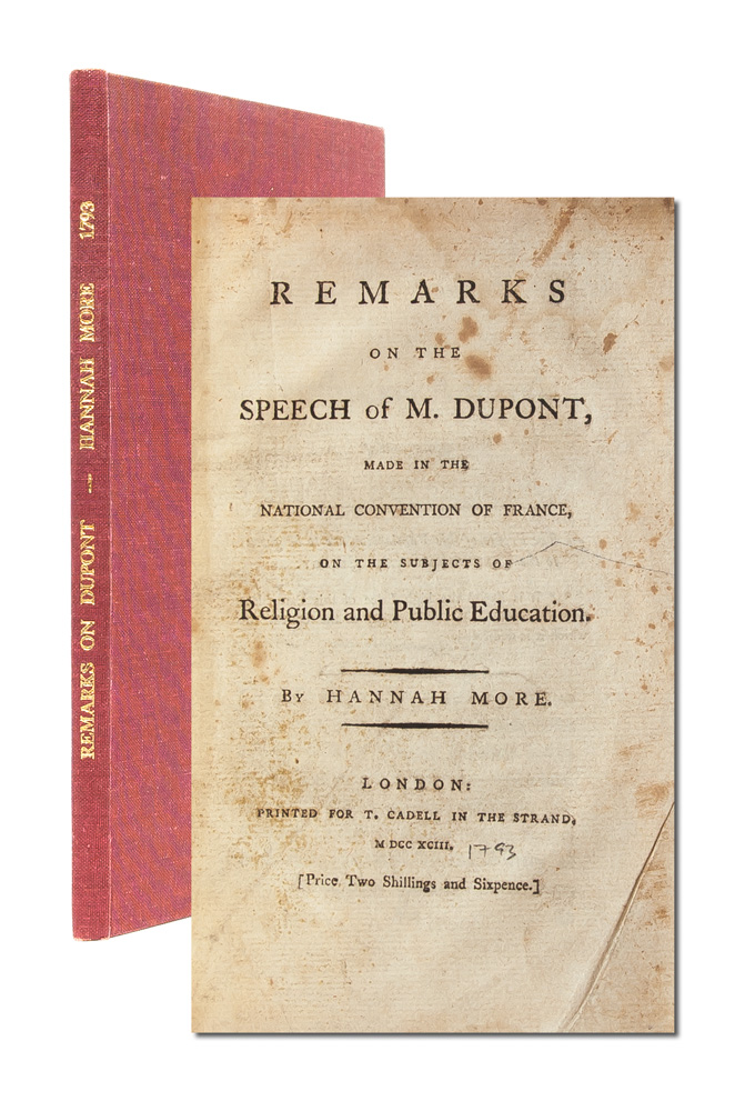 Remarks on the Speech of M. Dupont...on the Subjects of Religion and Public Education