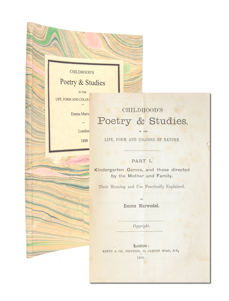 Childhood's Poetry & Studies, in the life, form, and colours of nature
