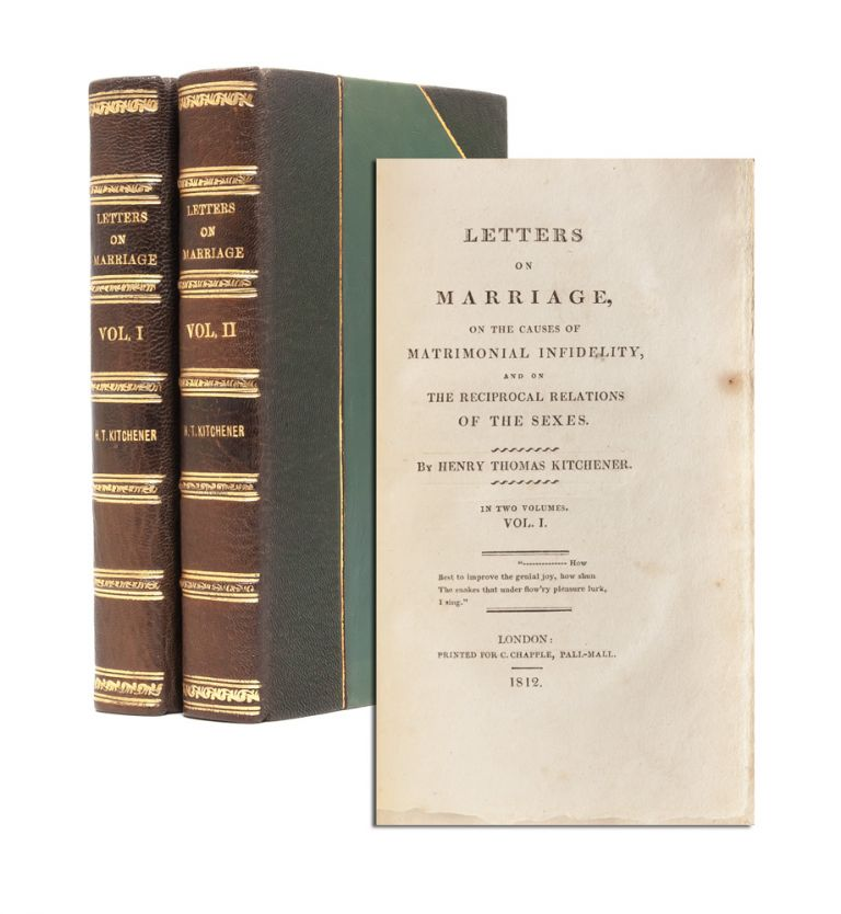 Letters on Marriage, on the Causes of Matrimonial Infidelity, and on the Reciprocal Relations of...