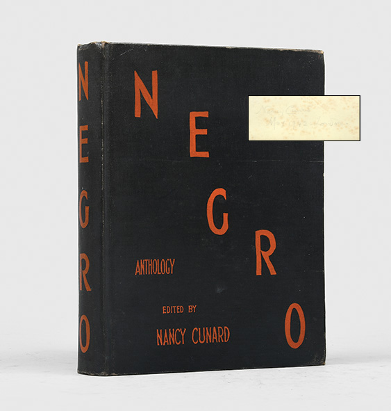 Negro (First Edition Signed