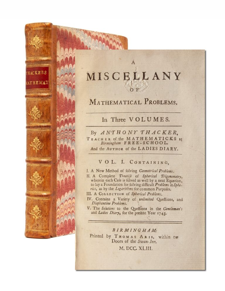 A Miscellany of Mathematical Problems
