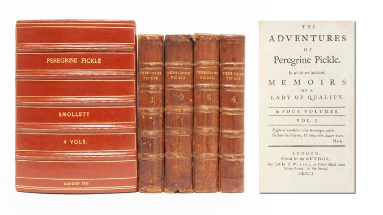 The Adventures of Peregrine Pickle. In which are included Memoirs of a Lady of Quality (in 4 vols.). Tobias Smollett.