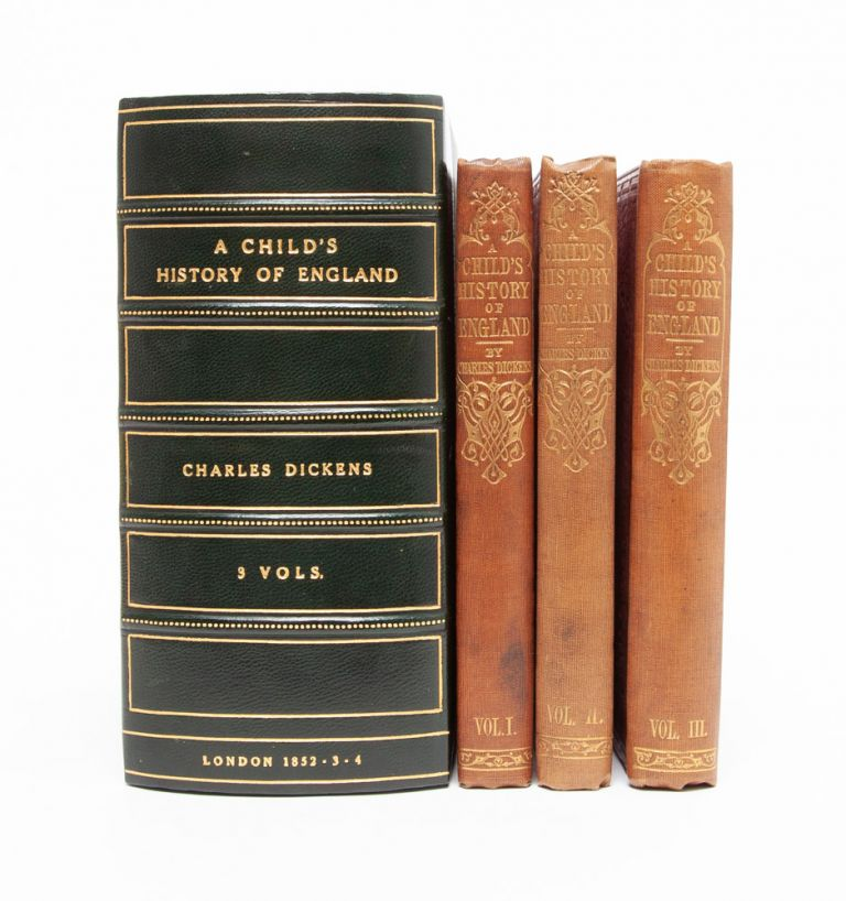 A Child's History of England (in 3 vols.). Charles Dickens.