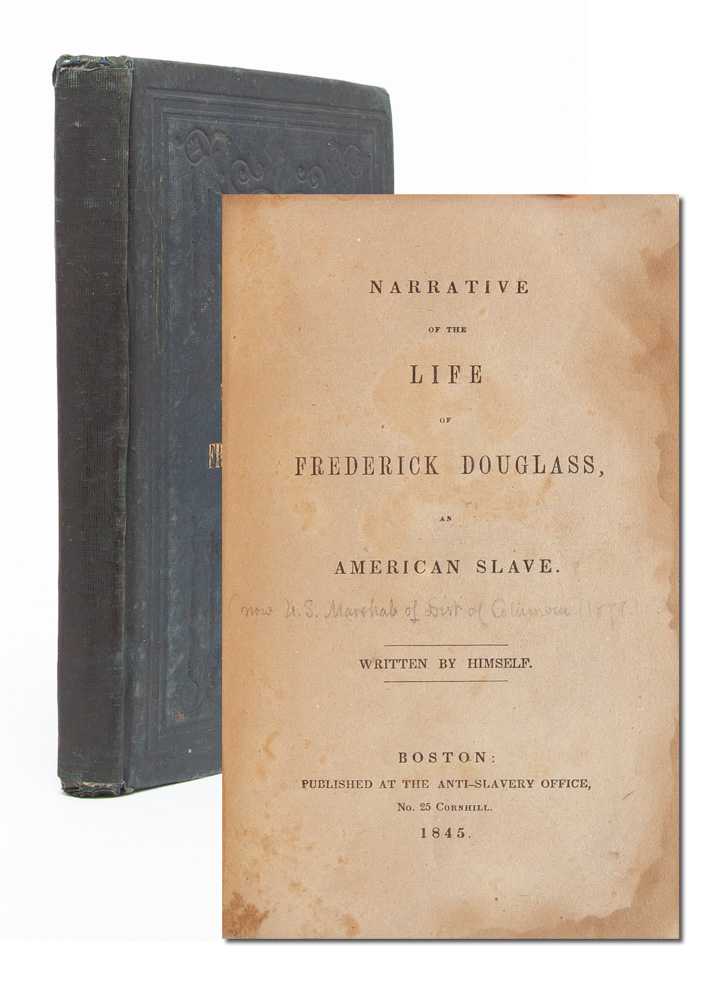 Narrative of the Life of Frederick Douglass, An American Slave. Frederick Douglass.