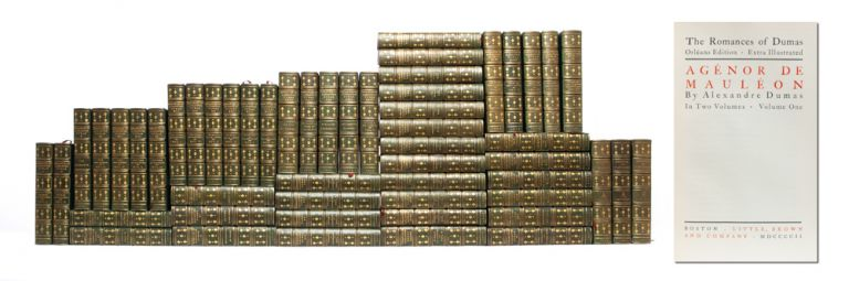 The Romances of Alexandre Dumas, Extra Illustrated (in 53 vols