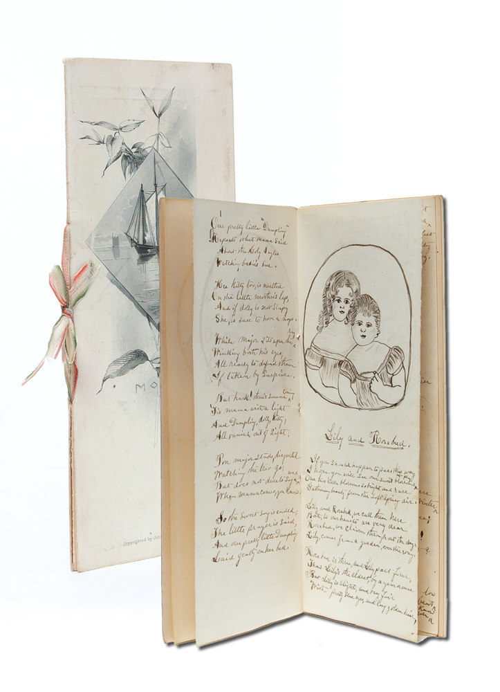 Songs About Our Little Dumpling and Other Flowers. Dedicated to Edith V. Flanders. Women's Gift Exchange, Aunt Lottie.