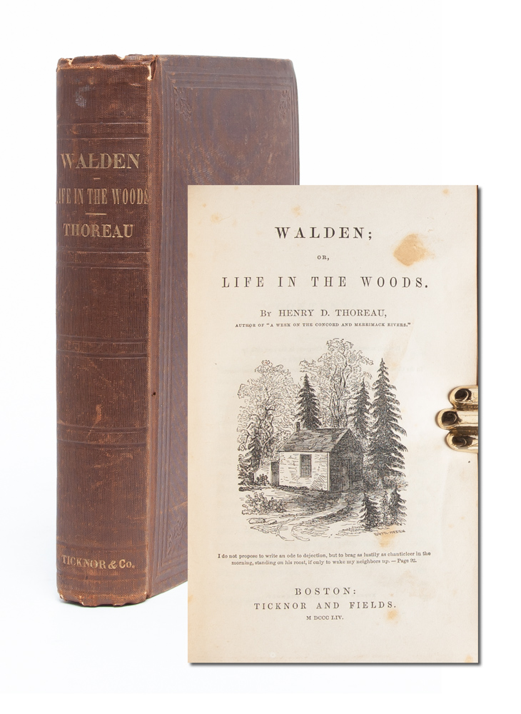 Walden: Or, Life in the Woods. Henry David Thoreau.