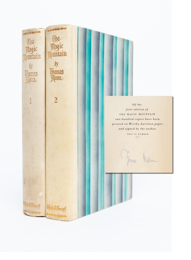 The Magic Mountain (Signed Limited Edition). Thomas Mann.