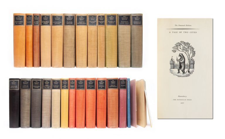 The Nonesuch Dickens (in 24 vols.). Charles Dickens.