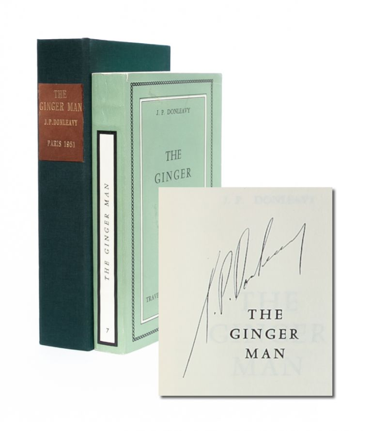 The Ginger Man (Signed First Edition). J. P. Donleavy.