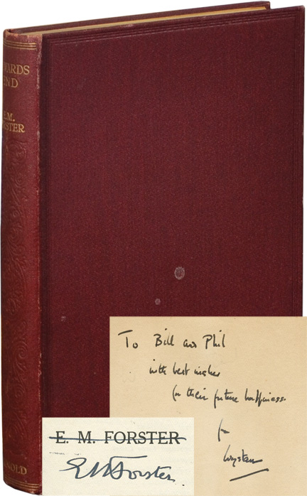 HOWARD's END (Auden Association Copy). E. M. Forster.