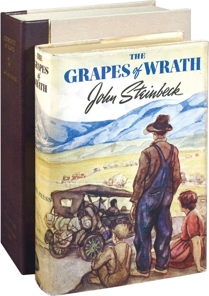 the theme of emigration in the grapes of wrath by john steinbeck Henry fonda stars with jane darwell and john carradine in this beloved classic based on john steinbeck's  migration to the  the grapes of wrath is.