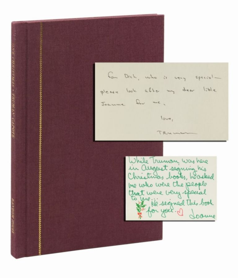 One Christmas (Inscribed first edition)
