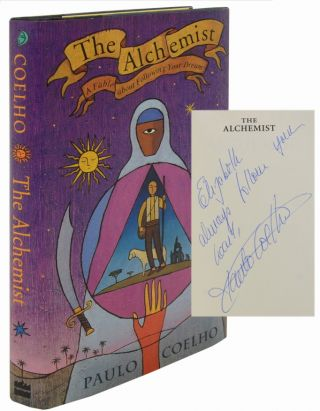 Image 1 of 3 for THE ALCHEMIST (Inscribed First Edition