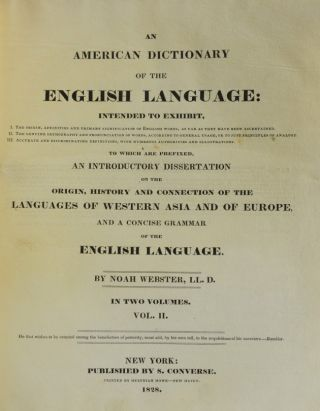 Image 3 of 5 for An American Dictionary of the English Language