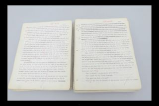 "The Author's Original Typed Manuscript for ""Journey in the Dark."""