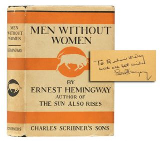 Image 1 of 1 for Men Without Women (Inscribed First Edition