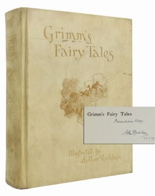 Image 1 of 3 for The Fairy Tales of the Brothers Grimm (Presentation Copy with Signed Letter