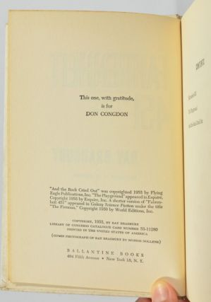 Image 4 of 4 for Fahrenheit 451 (Asbestos Binding