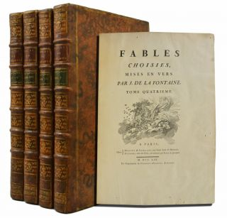Image 1 of 6 for Fables choisies, mises en vers par J. de la Fontaine
