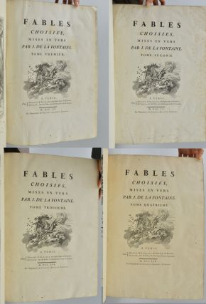 Image 4 of 6 for Fables choisies, mises en vers par J. de la Fontaine