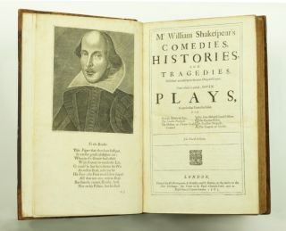 Image 1 of 2 for Comedies, Histories and Tragedies. Published according to the true Original...