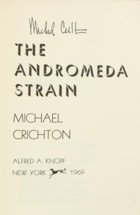 The Andromeda Strain (Signed First Edition)