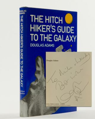 Image 1 of 3 for The Hitchhiker's Guide to the Galaxy (Inscribed First Edition