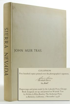 Image 1 of 3 for Sierra Nevada: The John Muir Trail (Signed Ltd