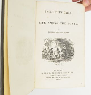 Image 4 of 8 for Uncle Tom's Cabin; or, Life Among the Lowly (with laid in signatures
