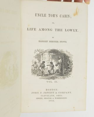 Image 5 of 8 for Uncle Tom's Cabin; or, Life Among the Lowly (with laid in signatures