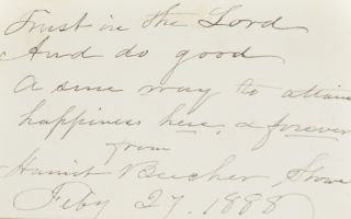 Image 7 of 8 for Uncle Tom's Cabin; or, Life Among the Lowly (with laid in signatures