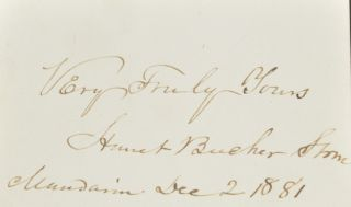 Image 8 of 8 for Uncle Tom's Cabin; or, Life Among the Lowly (with laid in signatures