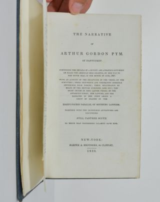 Image 3 of 4 for The Narrative of Arthur Gordon Pym. Of Nantucket