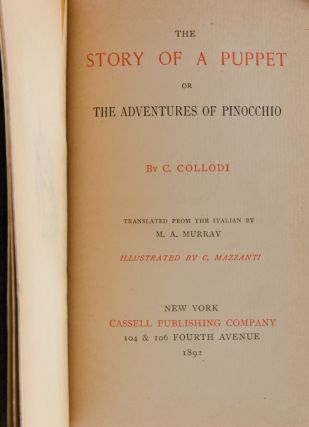 The Story of a Puppet, or The Adventures of Pinocchio