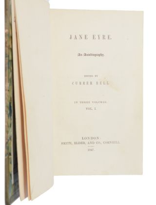 Image 4 of 4 for Jane Eyre. An autobiography